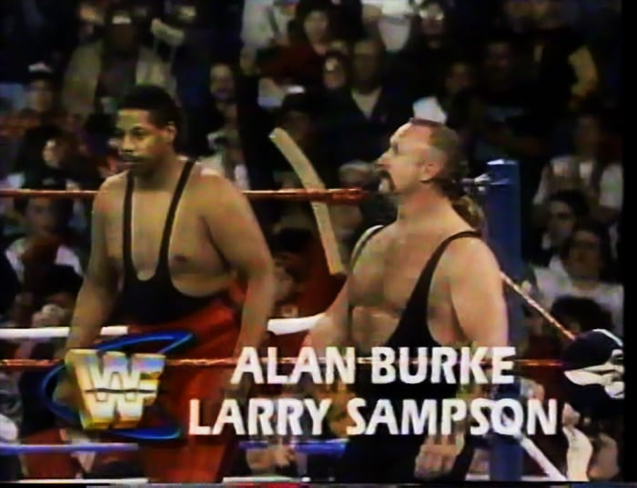 Alan Burke & Larry Sampson WWF Tag Team