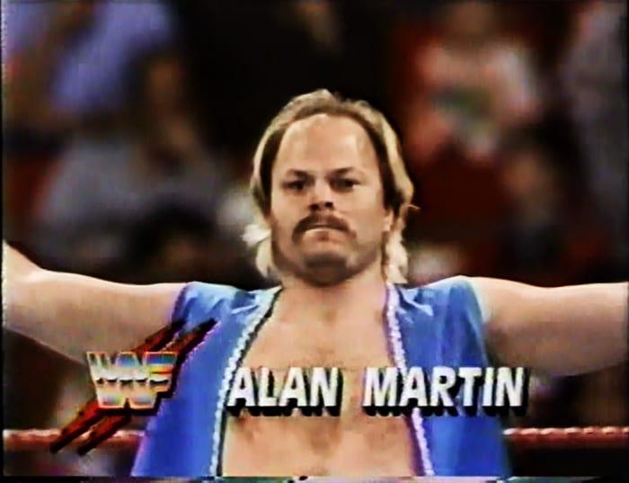 Alan Martin WWF Jobber