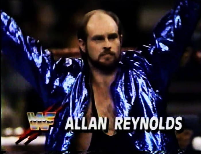 Allan Reynolds WWF Jobber