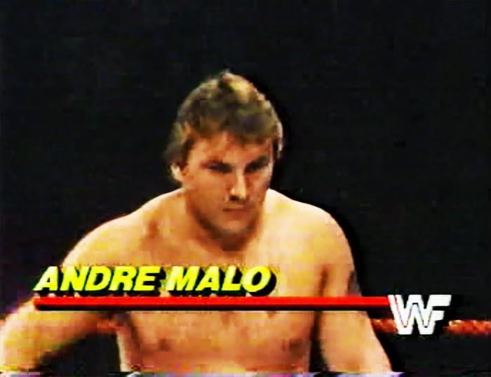 Andre Malo WWF Jobber