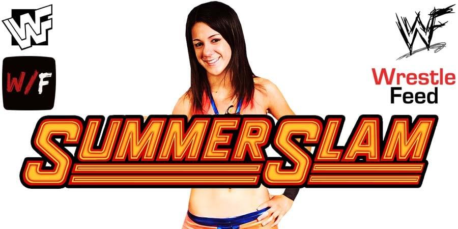 Bayley WWE SummerSlam 2020 WrestleFeed App