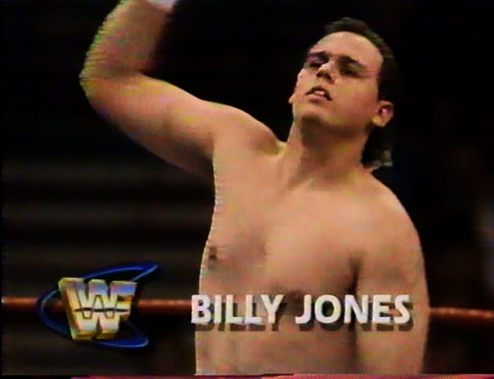 Billy Jones WWF Jobber