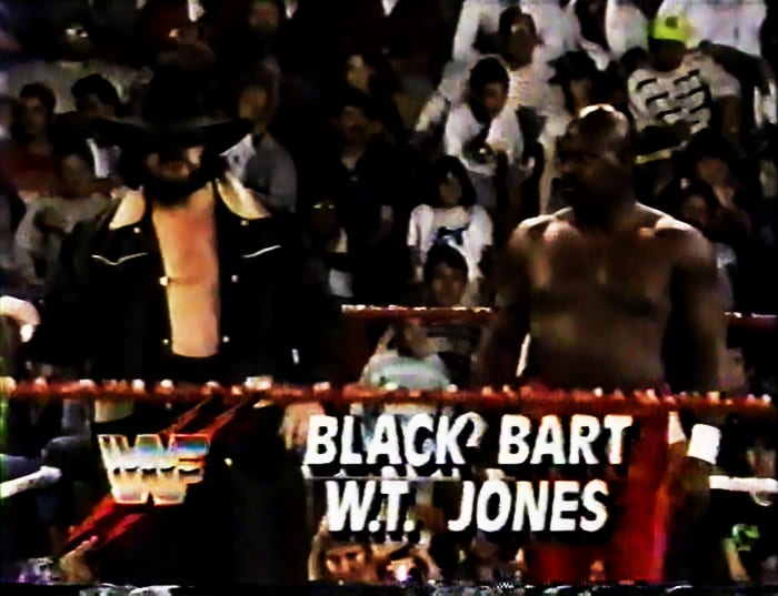 Black Bart & WT Jones WWF Tag Team