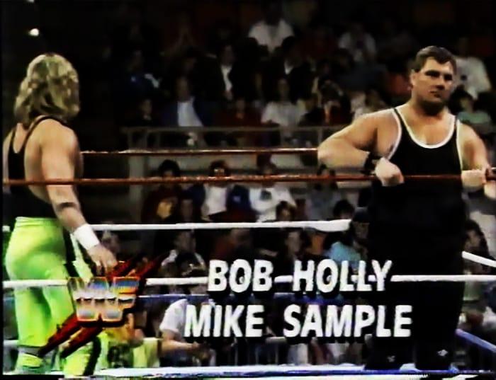 Bob Holly & Mike Sample WWF Tag Team