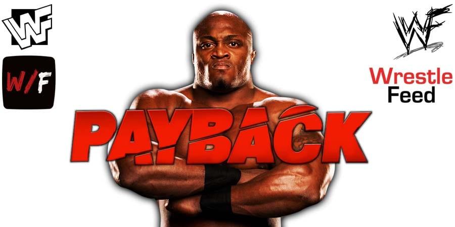 Bobby Lashley WWE Payback 2020