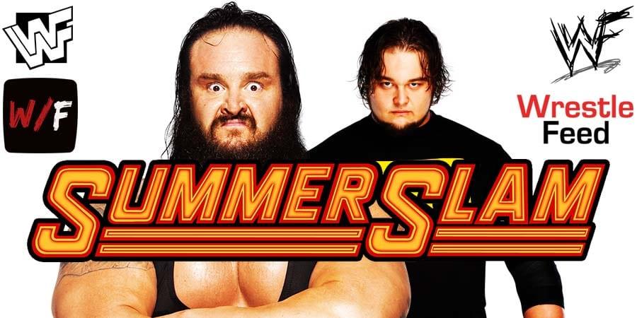 Braun Strowman vs Bray Wyatt - WWE SummerSlam 2020 WrestleFeed App