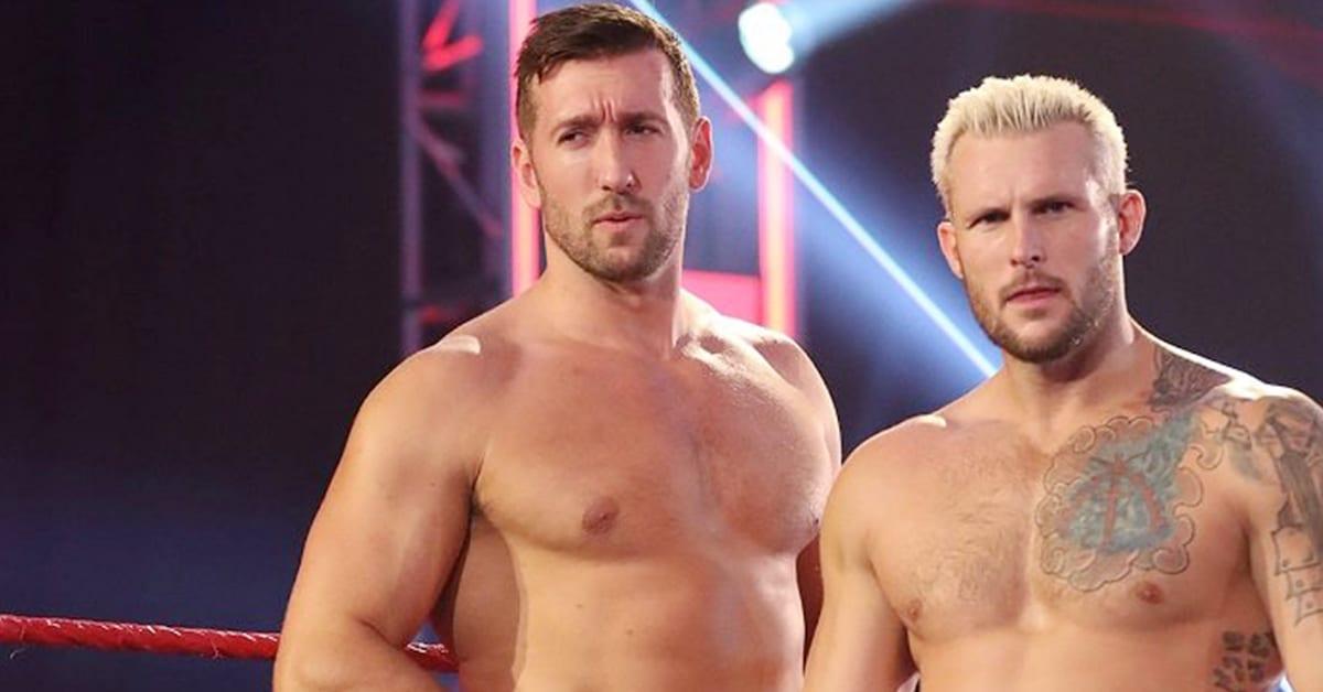 Brendan Vink Shane Thorne WWE RAW