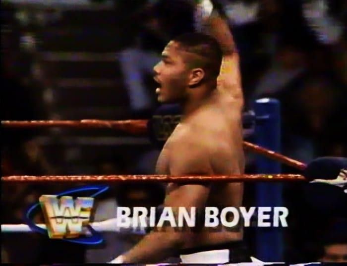 Brian Boyer WWF Jobber