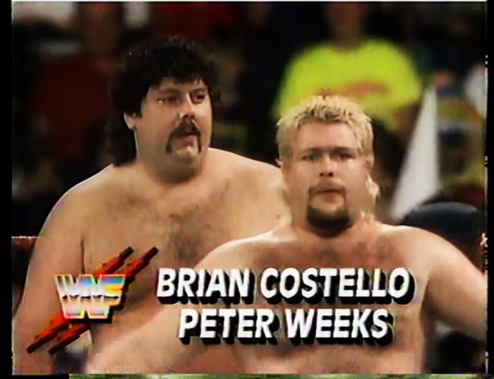 Brian Costello & Peter Weeks WWF Tag Team