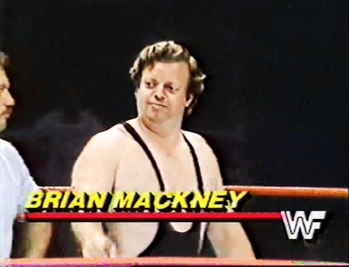 Brian Mackney WWF Jobber