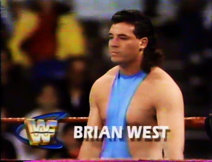 Brian West WWF Jobber