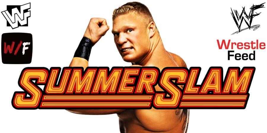 Brock Lesnar WWE SummerSlam 2020 PPV WrestleFeed App