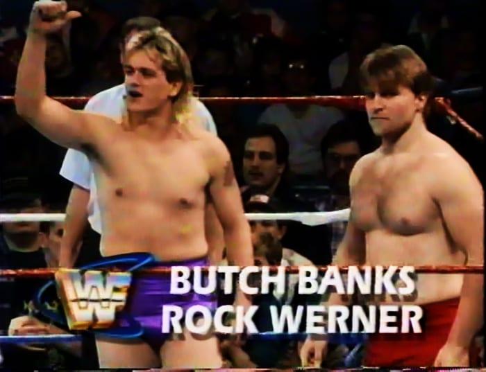 Butch Banks & Rock Werner WWF Tag Team