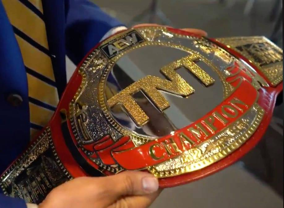 Cody Rhodes Reveals The Completed AEW TNT Championship Title Belt