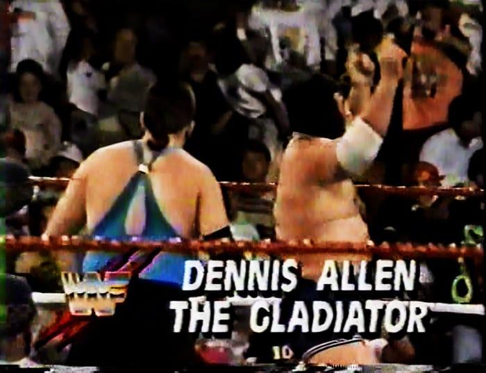 Dennis Allen & The Gladiator WWF Tag Team