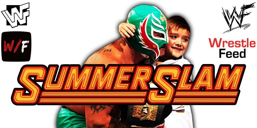 Dominik Mysterio Rey Mysterio WWE SummerSlam 2020 WrestleFeed App
