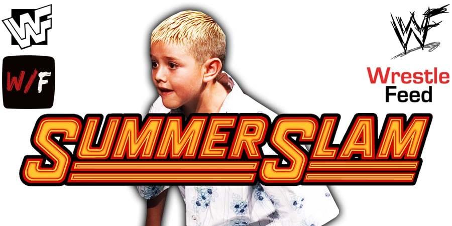Dominik Mysterio WWE SummerSlam 2020 Debut Match WrestleFeed App