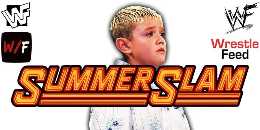 Dominik Mysterio WWE SummerSlam 2020 WrestleFeed App