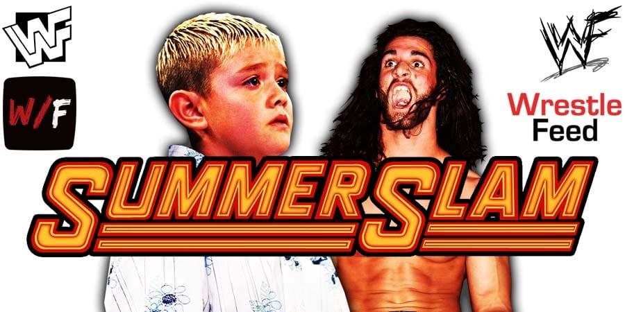 Dominik Mysterio vs Seth Rollins - WWE SummerSlam 2020 WrestleFeed App