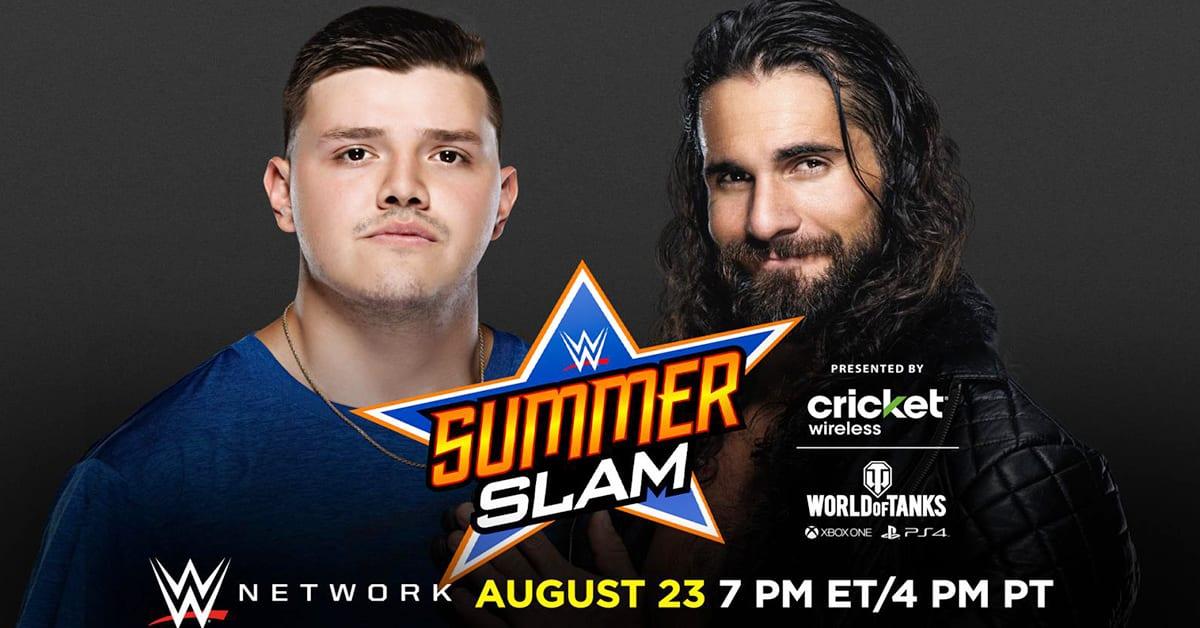 Dominik Mysterio vs Seth Rollins - WWE SummerSlam 2020