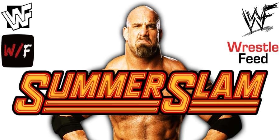 Goldberg WWE SummerSlam 2003 WrestleFeed App