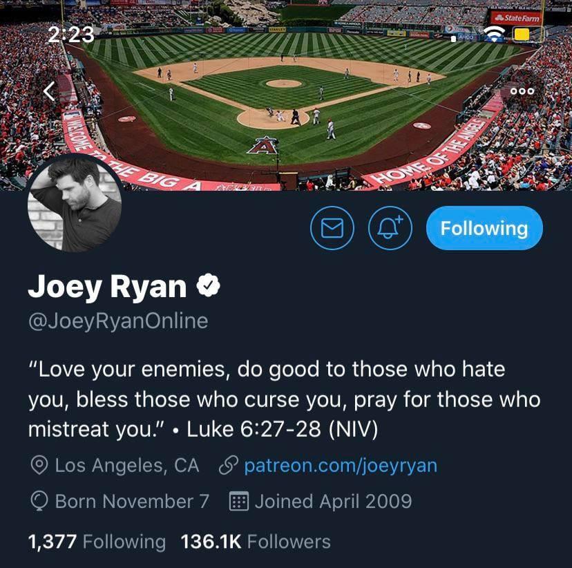 Joey Ryan Rebranding Himself After Over A Dozen Sexual Harassment Allegations