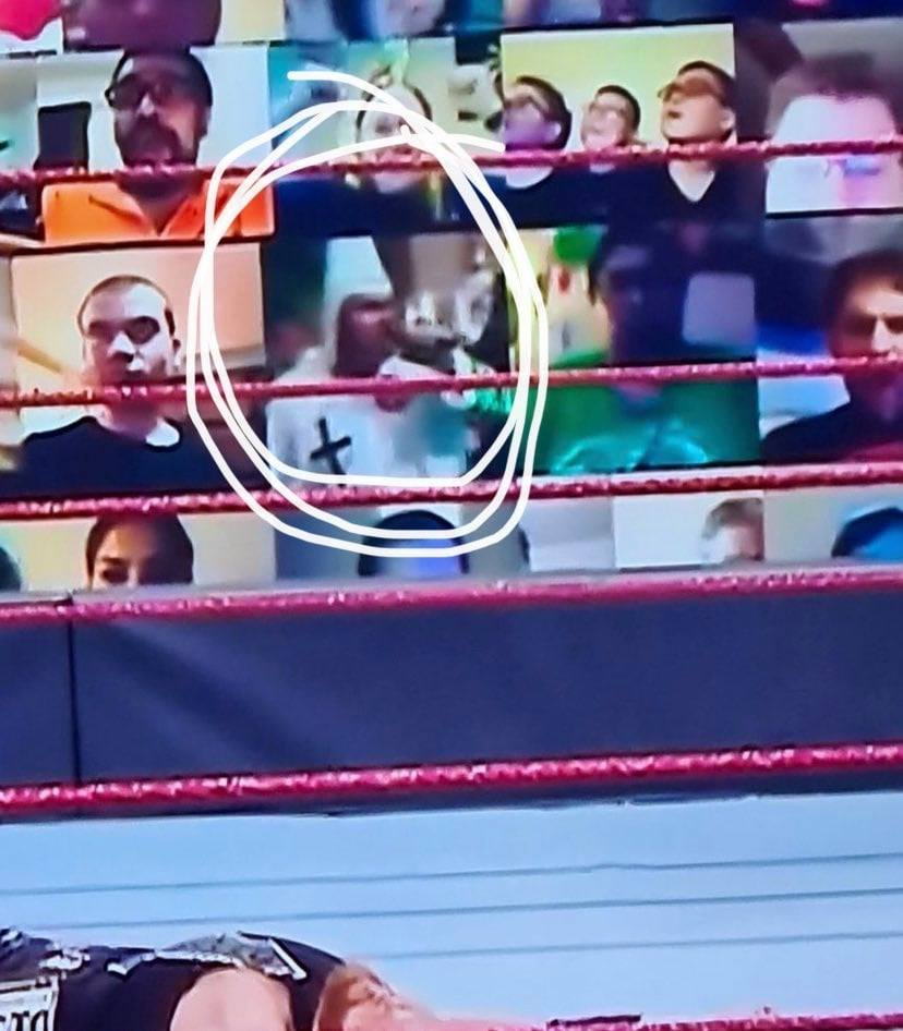 KKK's Rally Footage Played By A Fan At WWE ThunderDome On RAW After SummerSlam 2020
