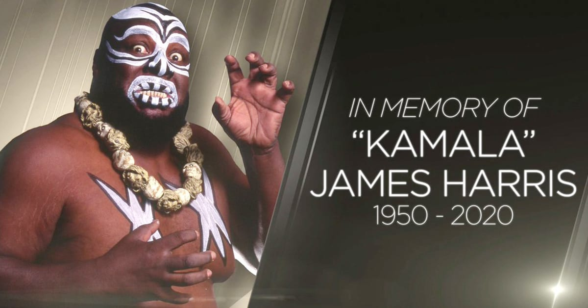 Kamala Official WWE In Memory Of RIP Rest In Peace Graphic Showed On Monday Night RAW