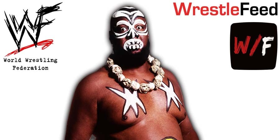 Kamala Passes Away Death Article Pic 1 WrestleFeed App