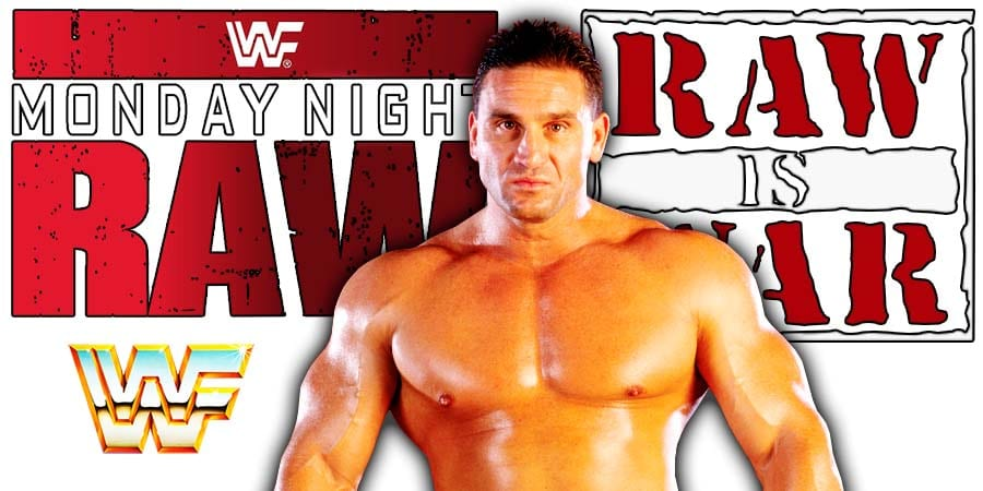 Ken Shamrock RAW Article Pic