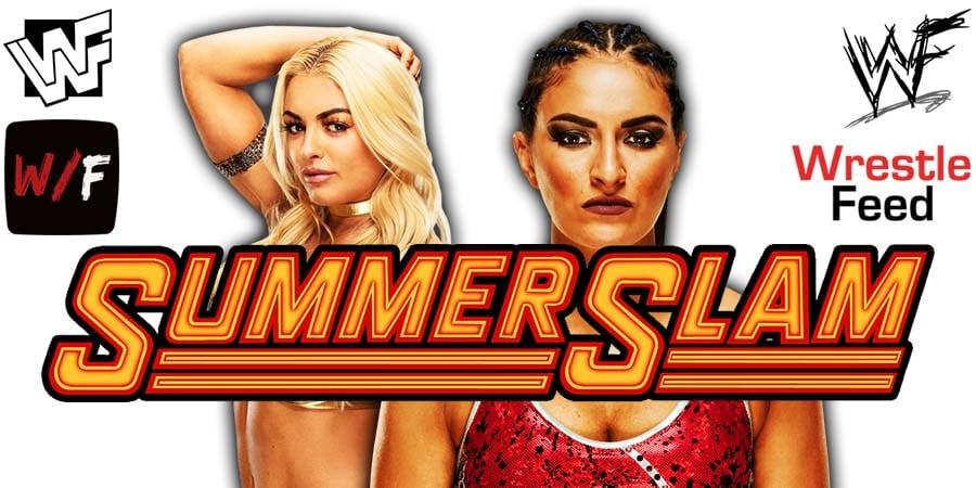 Mandy Rose Defeats Sonya Deville At WWE SummerSlam 2020