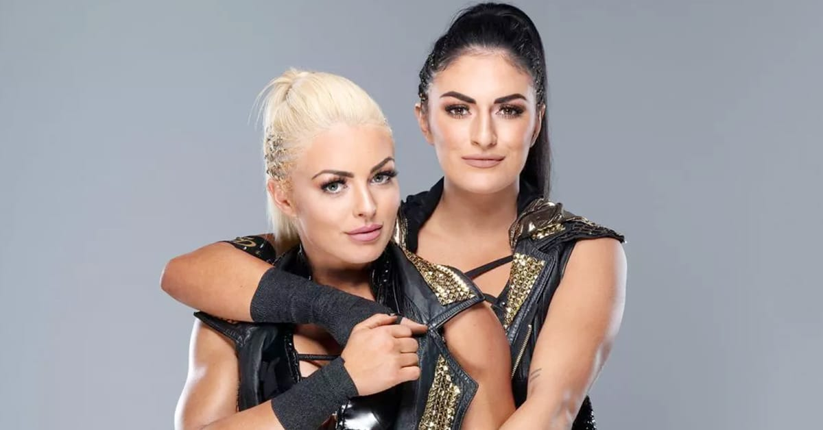 Mandy Rose Sonya Deville Close To Each Other