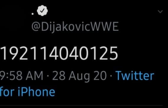 NXT Wrestler Dominik Dijakovic Teases A Big Angle For WWE Payback 2020