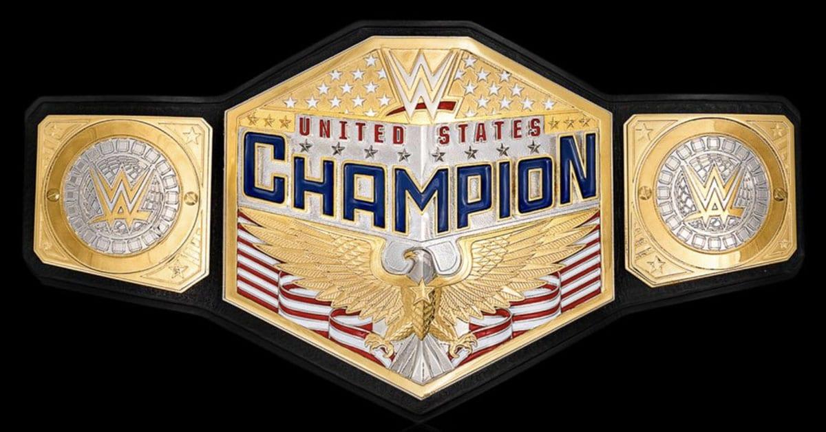 New WWE United States Championship Title Belt Design 2020