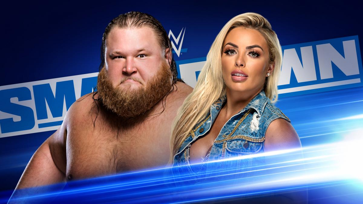 Otis Mandy Rose WWE SmackDown Banner