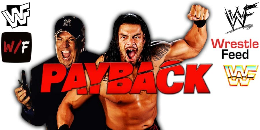Paul Heyman Roman Reigns WWE Payback 2020