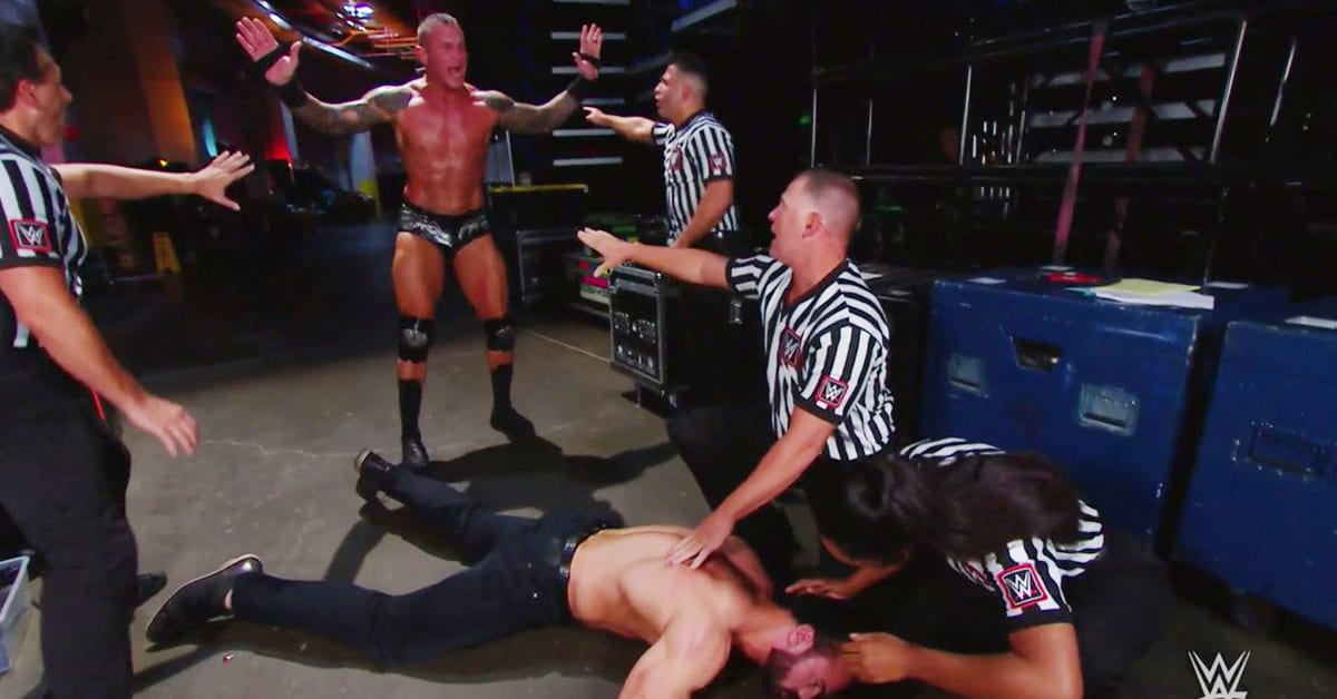 Randy Orton Punt Kicks Drew McIntyre WWE RAW After SummerSlam