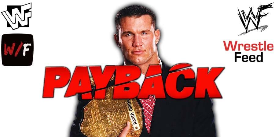 Randy Orton WWE Payback 2020