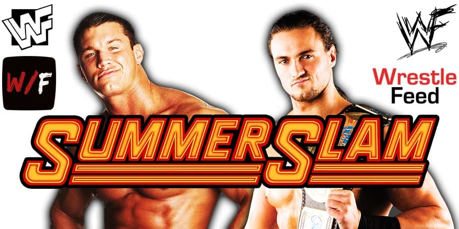 Randy Orton vs Drew McIntyre WWE SummerSlam 2020 WrestleFeed App