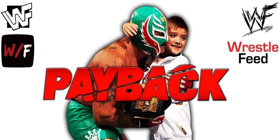 Rey Dominik Mysterio WWE Payback 2020