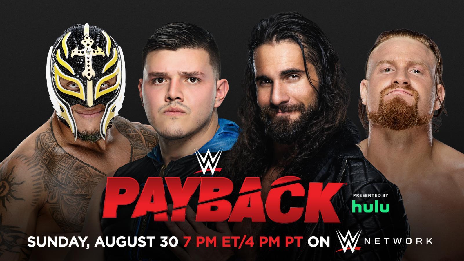 Rey Mysterio & Dominik Mysterio vs Seth Rollins & Murphy - WWE Payback 2020