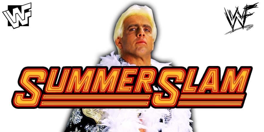 Ric Flair WWE SummerSlam 2020