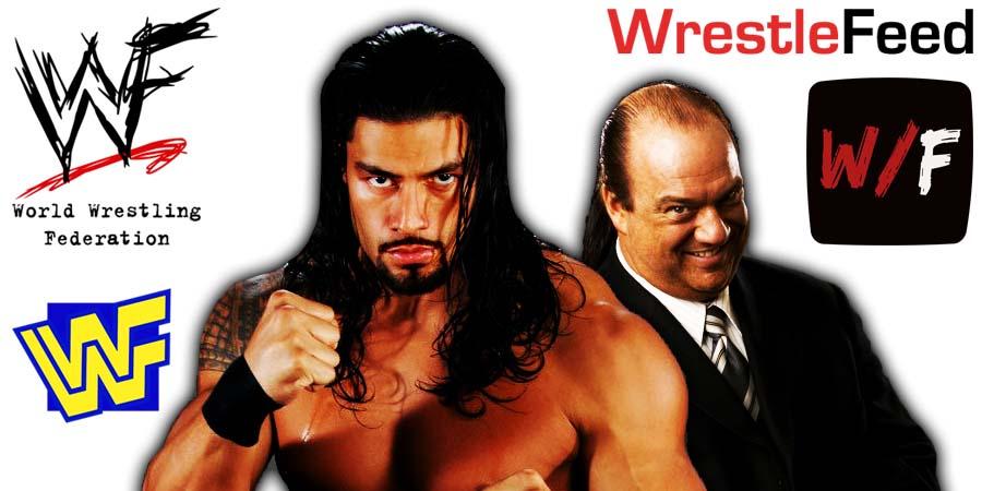 Roman Reigns Paul Heyman Article Pic 2 WrestleFeed App