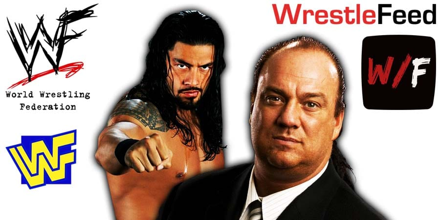 Roman Reigns Paul Heyman Article Pic 4 WrestleFeed App