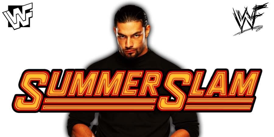 Roman Reigns Returns At WWE SummerSlam 2020