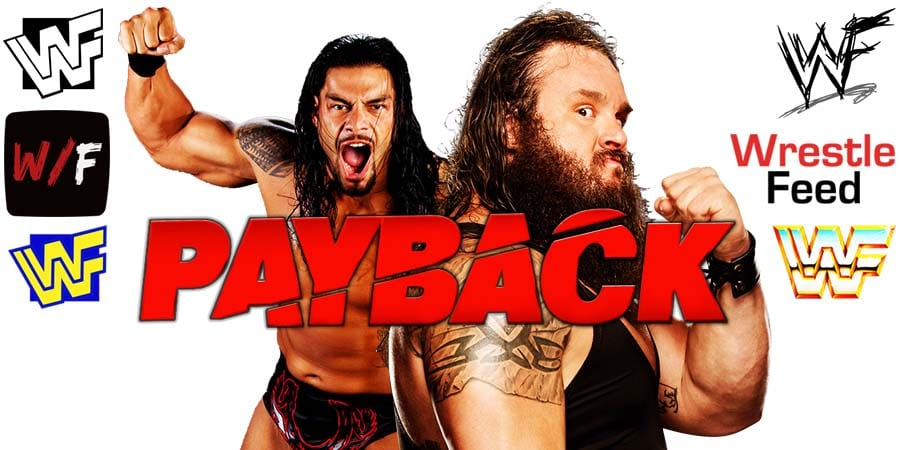 Roman Reigns vs Braun Strowman - WWE Payback 2020