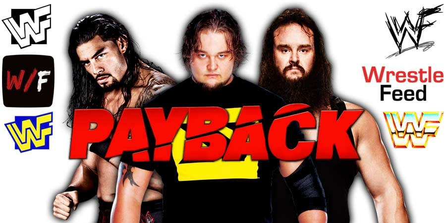 Roman Reigns vs Bray Wyatt vs Braun Strowman - WWE Payback 2020