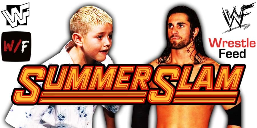Seth Rollins Defeats Dominik Mysterio At WWE SummerSlam 2020