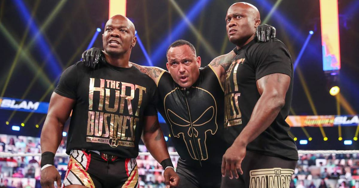 Shelton Benjamin MVP Bobby Lashley The Hurt Business WWE SummerSlam 2020 Kickoff Show