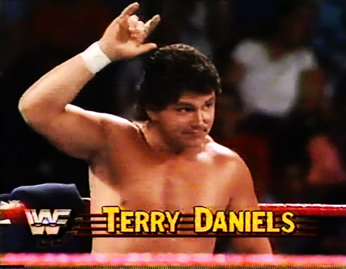 Terry Daniels WWF Jobber